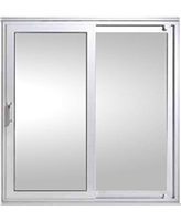 In-Line Sliding Patio Doors in White