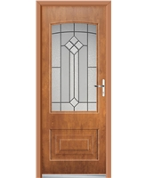 Ultimate Portland Rockdoor in Light Oak with Beacon