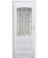 Ultimate Portland Rockdoor in White with Beacon