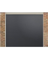 Roller Shutter Garage Door in Anthracite Grey