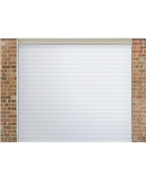 Roller Shutter Garage Door in White