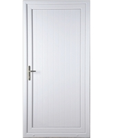 Upney Shiplap Solid uPVC High Security Door (home use)