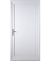 Shiplap Solid uPVC Door