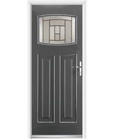 Ultimate Newark Rockdoor in Slate Grey with Citadel Glazing