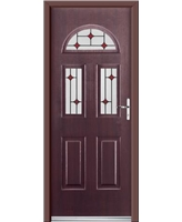 Ultimate Tennessee Rockdoor in Rosewood with Red Diamonds