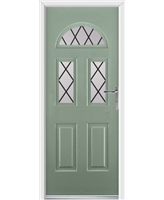 Tennessee Rockdoor in Chartwell Green with Diamond Lead