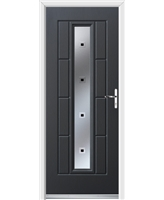Ultimate Vermont Rockdoor in Anthracite Grey with Quadra