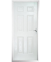 The Hull Composite Door in White