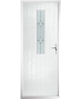 The Sheffield Composite Door in White with Classic Glazing