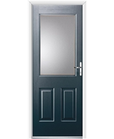 Ultimate Windsor Rockdoor in Anthracite Grey with Clear Glazing