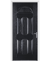 Worcester FD30s Fire Door in Black