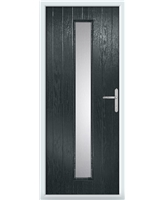 The Coventry Composite Door in Grey (Anthracite)