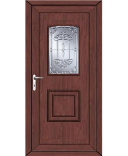 Fareham New Tara uPVC High Security Door In Rosewood