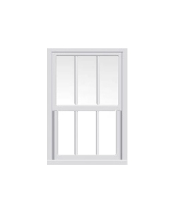 Greater Manchester uPVC Sliding Sash Window in White