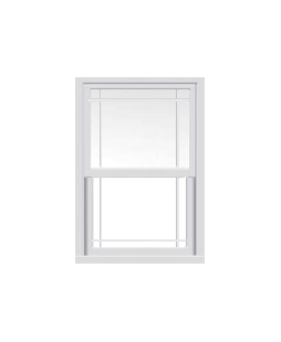 Kent uPVC Sliding Sash Window in White