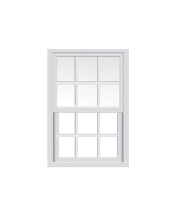 Lancashire uPVC Sliding Sash Window in White